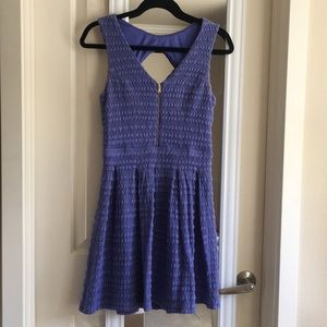Guess fit n flare crochet dress size 4